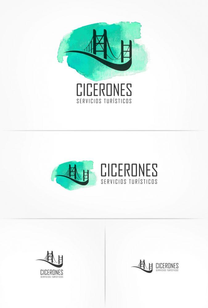 LOGOTIPO_CICERONES_COLORES Y BN_HORIZONT Y VERT